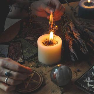 Свечи восковые для обрядов и ритуалов
