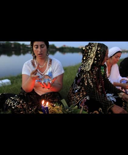 Плетенные Цыганские свечи