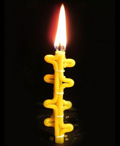 Восковая свеча на Исполнение желаний (Цыганская)