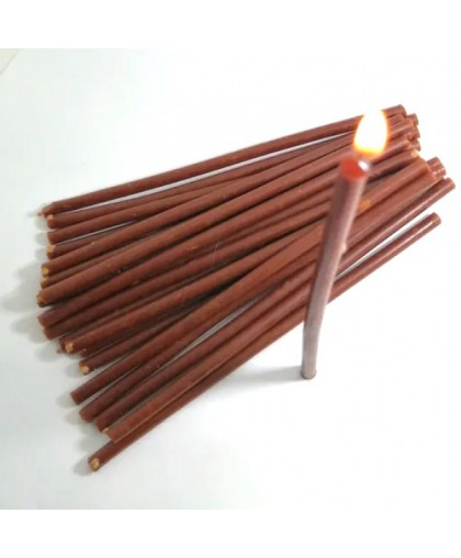 Свечи восковые коричневые (16см высотой) УПАКОВКА 1КГ