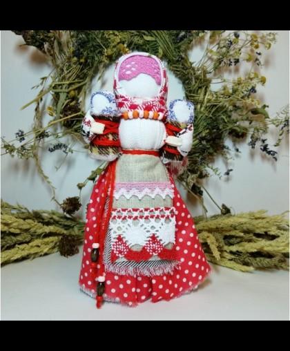 """Кукла-оберег славянская """"Двойная прибыль"""""""